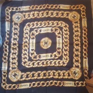 Chanel silk scarf  unisex